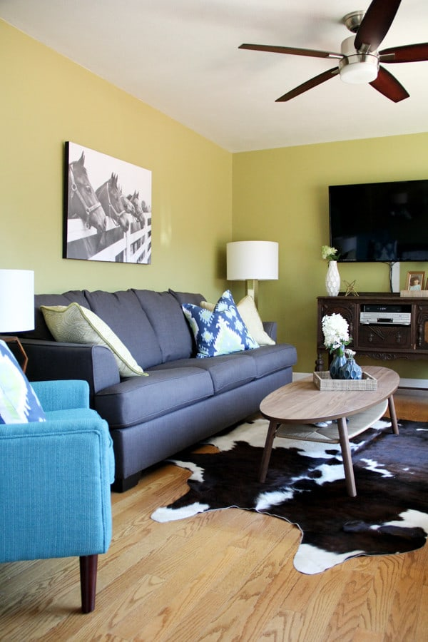 cowboy living room modern cowboy living room bright green door 11033