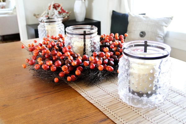 Fall Centerpiece for Dining Table