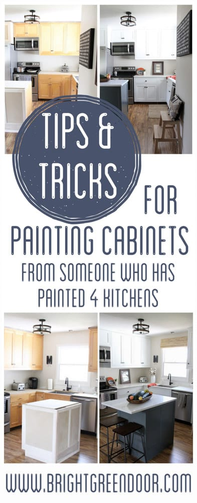 Tips for Painting Cabinets