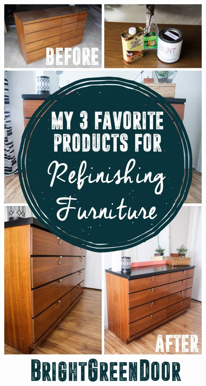 Products for Refinishing Furniture