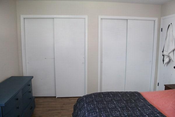 Plain Closet Doors