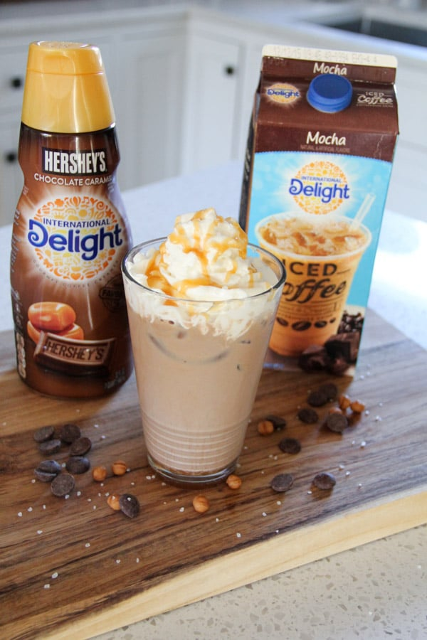 International Delight Salted Caramel Iced Mocha