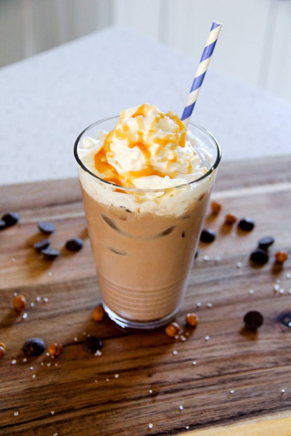 Salted Caramel Mocha on Ice