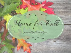 Blogtalk Home for Fall Blog Hop