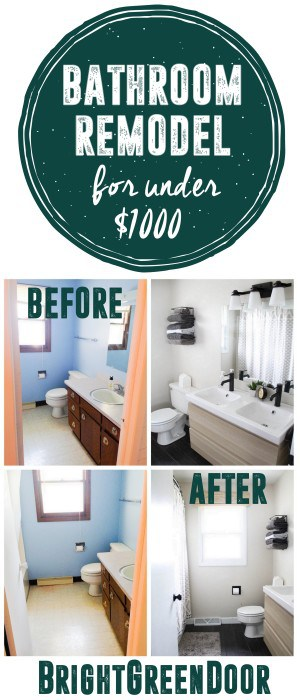 Bathroom Remodel Modern and Affordable