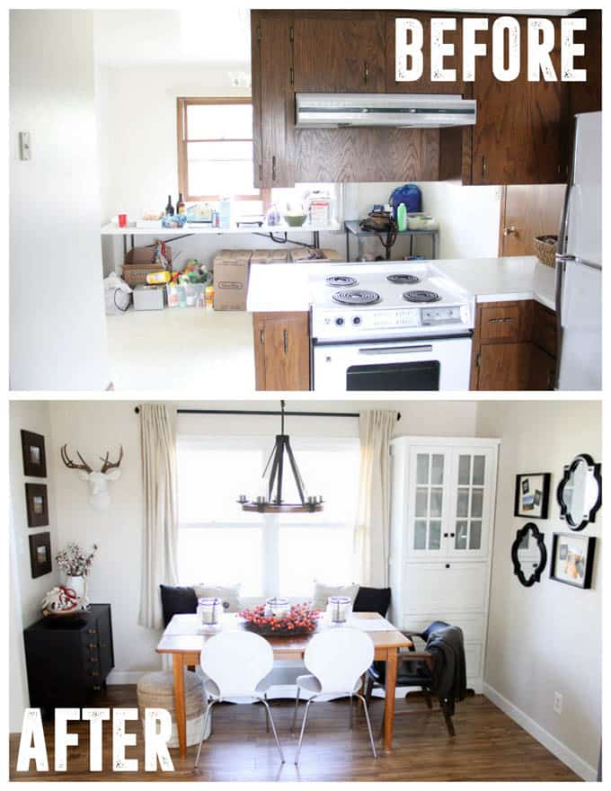 Dated Kitchen Updated Remodel