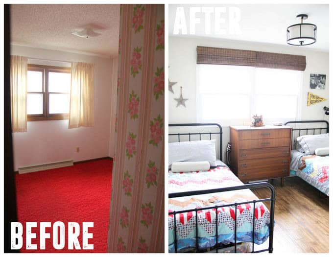 Vintage Modern Boy Room Remodel