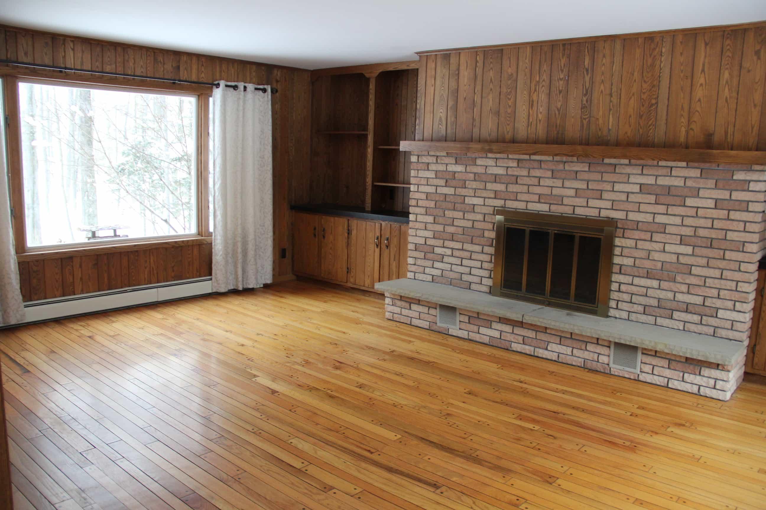 Oak Paneling Unpainted