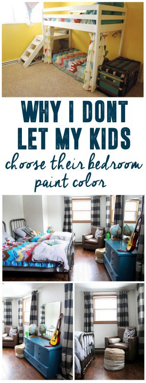 Why I Don't Let My Kids Pick Their Bedroom Paint Color