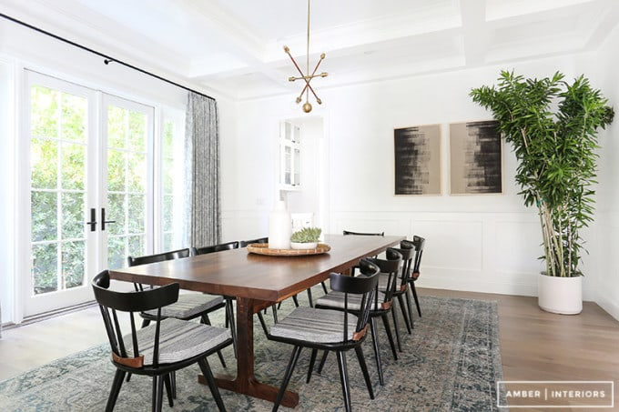 Scandi Mod Dining Room