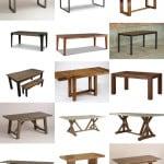 Farmhouse Tables for Under $1000