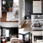 Black Modern Bedrooms