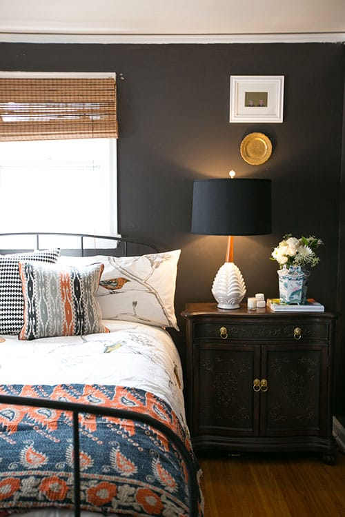 Design Sponge Black Bedroom