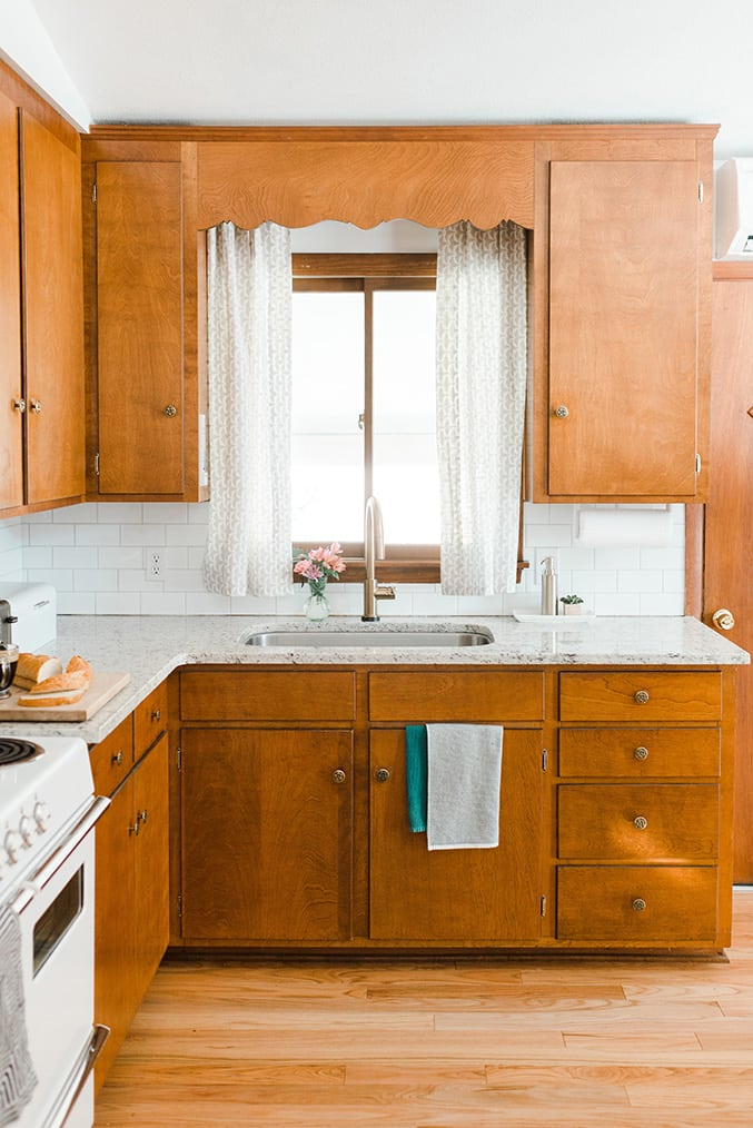 Dream Green DIY Kitchen Natural Wood