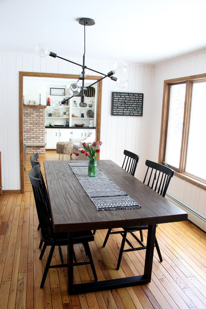 Scandi Modern Dining Room Updates