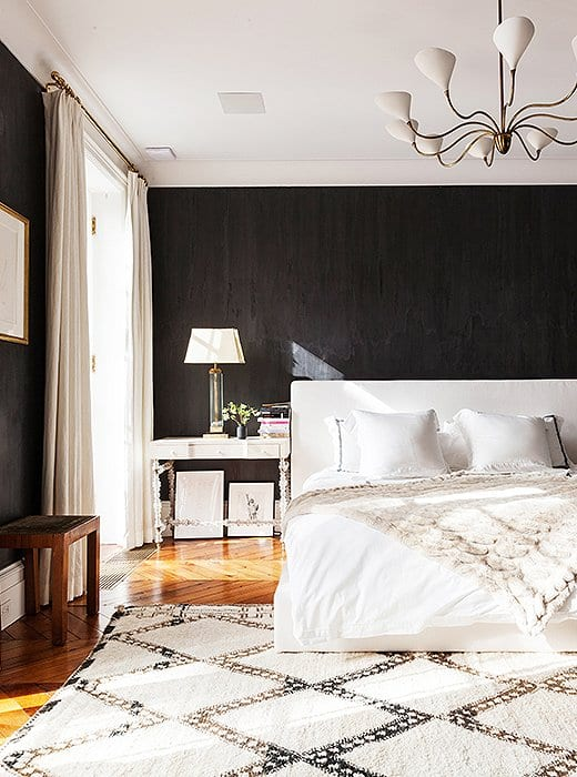 One Kings Lane Black Bedroom