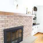 How to Spray Paint a Fireplace