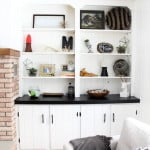 Modern Styled Built in shelving