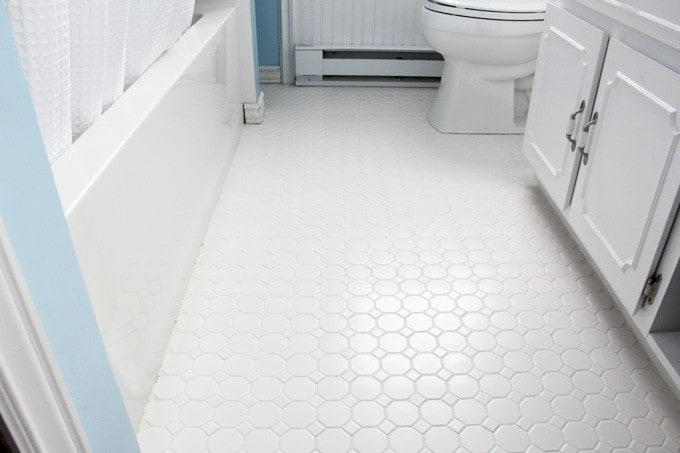 How To Refresh White Grout On Tile Floors Clean White Grout