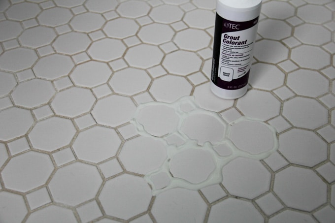 How To Refresh White Grout On Tile Floors Clean