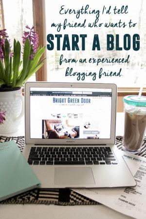 Tips for Starting a Blog