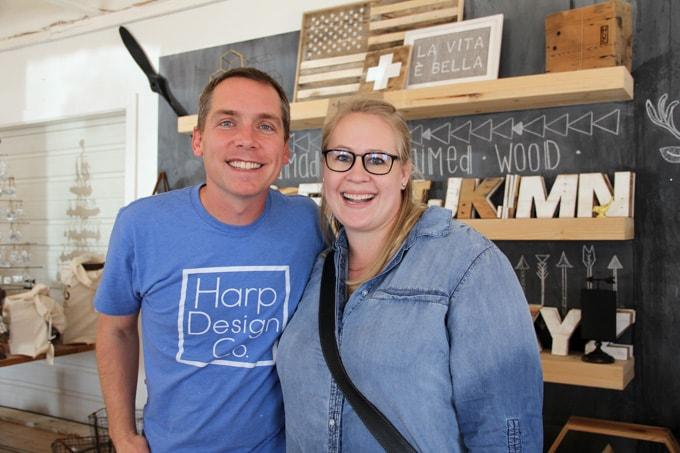 Magnolia Market And Meeting Clint Harp Bright Green Door