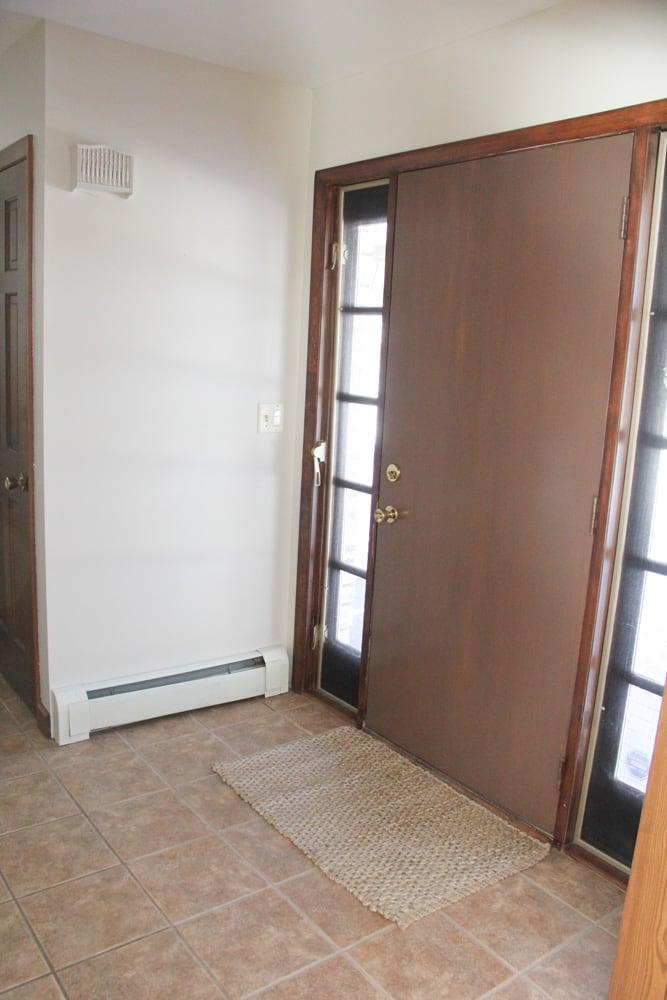 Blank Entryway
