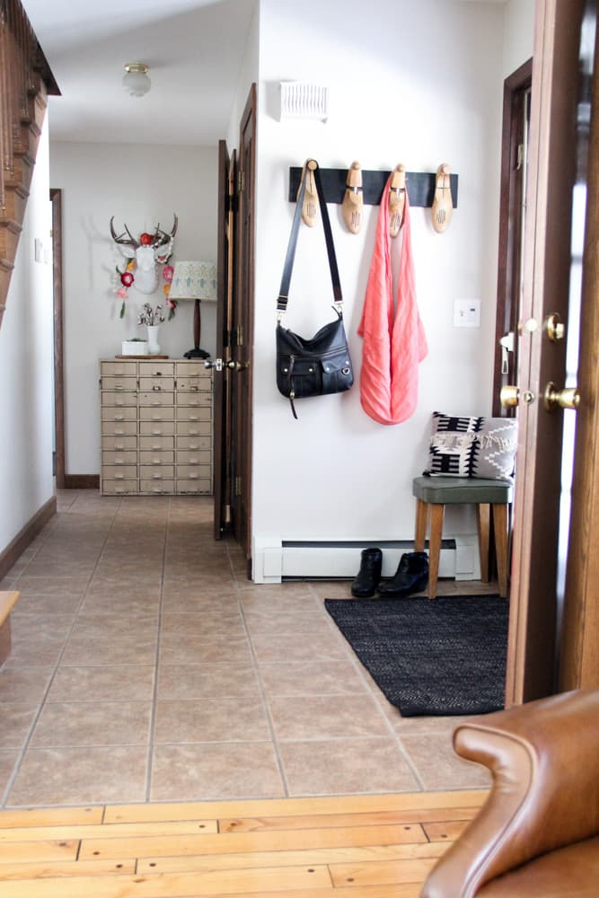 Modern Eclectic Entryway