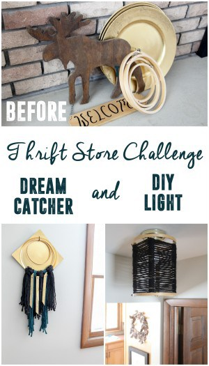DIY Light and Dream Catcher
