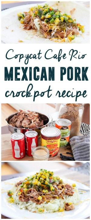 Cafe Rio Pork Recipe Mexican Pork