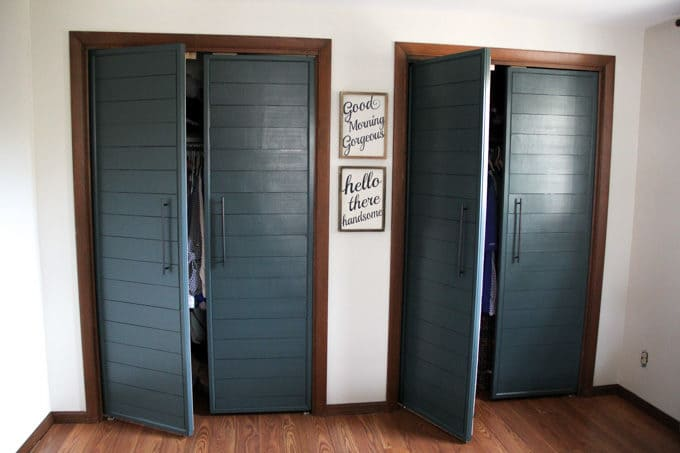 DIY Bi-fold doors converted to french doors