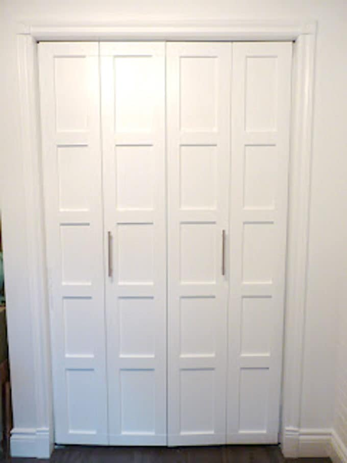 Creative Closet Door Makeovers