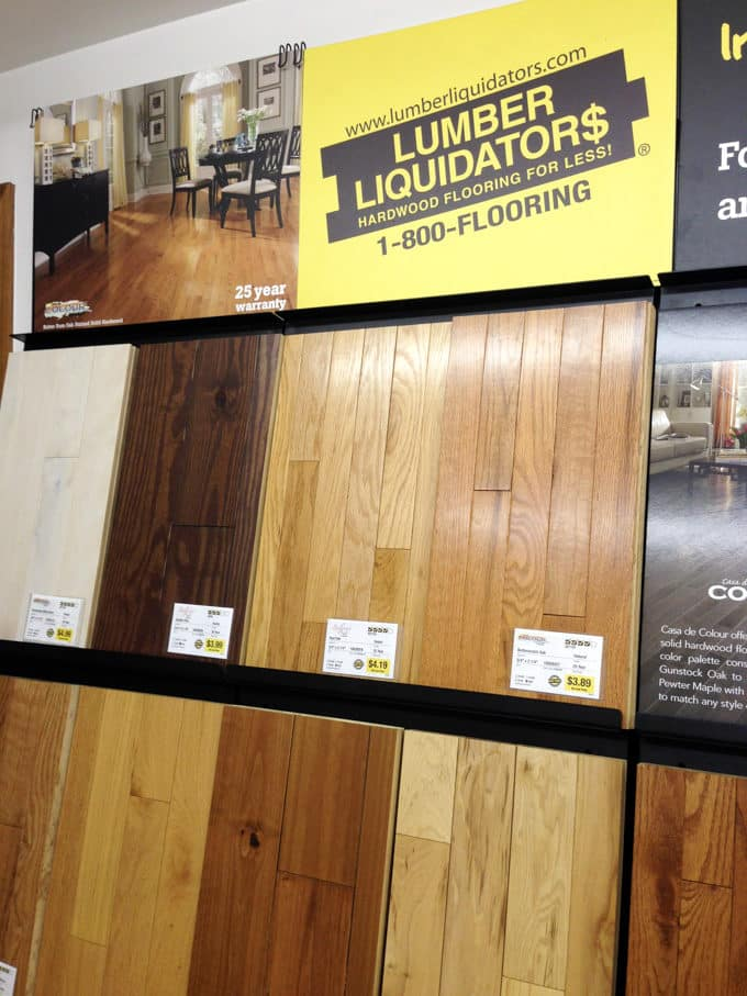 Lumber Liquidators Laminate