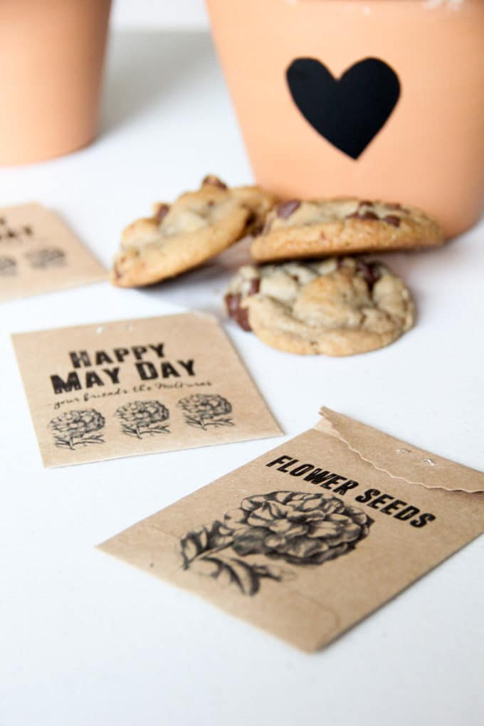 May Day Seed Packets