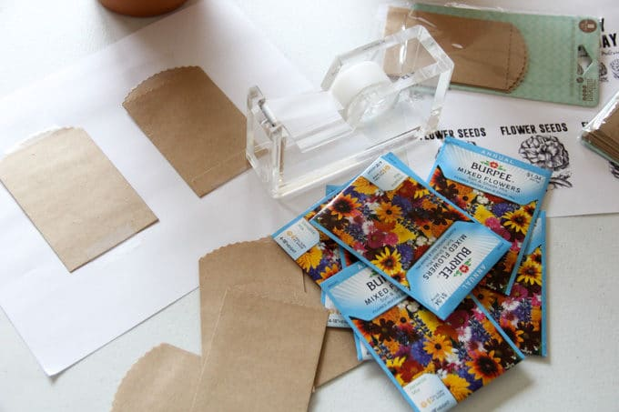 How to print your own seed packets