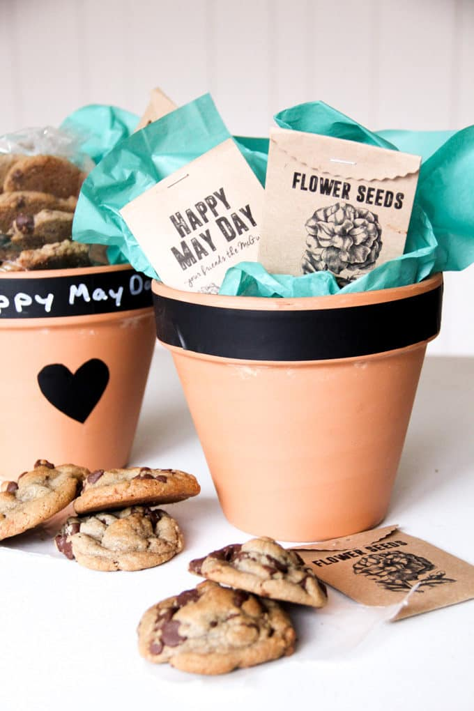 May Day gift with Cookies and Seeds