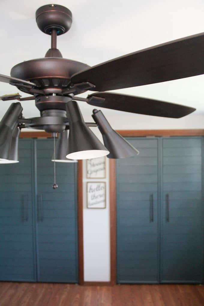 Mid Century Ceiling Fan