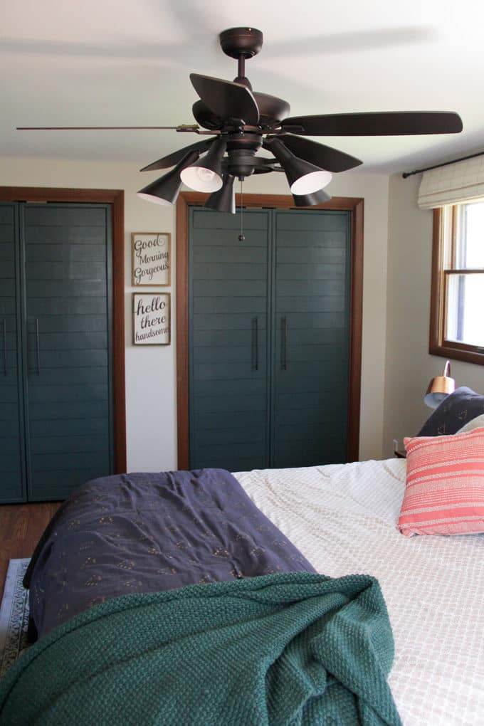 Modern Industrial Bedroom Lighting