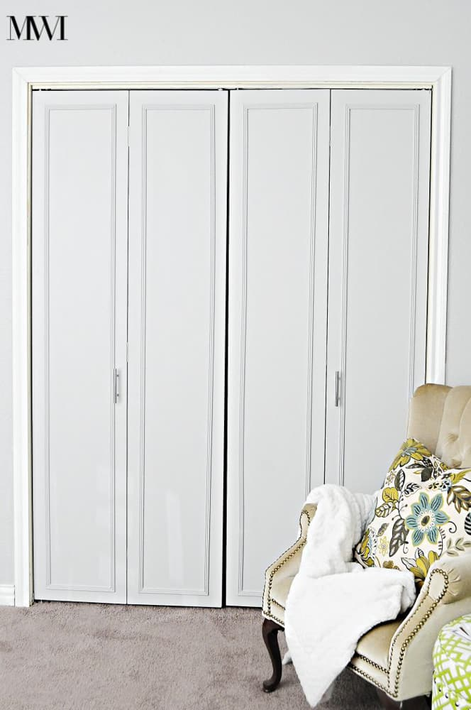 Facelift on Bi-fold Closet Doors