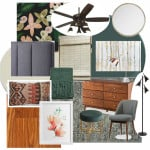Modern Master Bedroom Mood Board