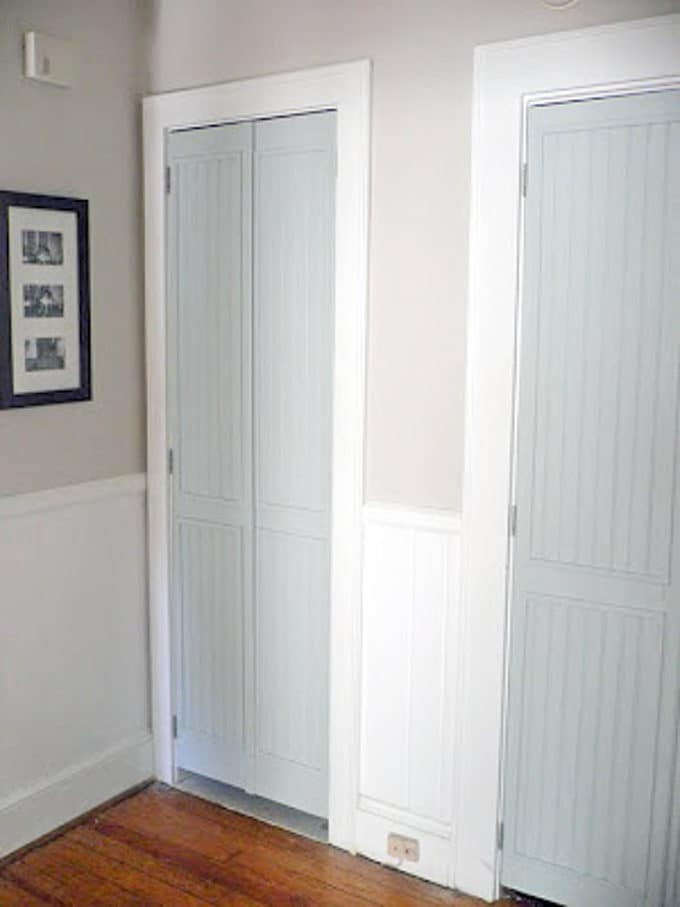 Convert Louvered Doors into French Doors