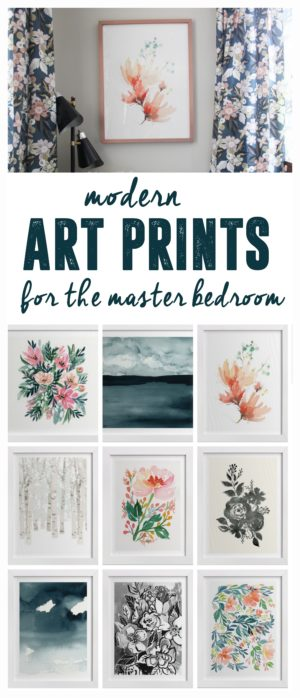 Art Prints for the Master Bedroom