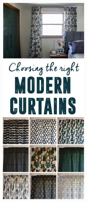 Choosing the Right Modern Curtinas