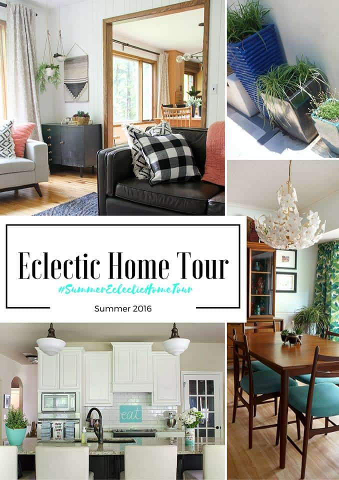 Eclectic Summer Home Tour