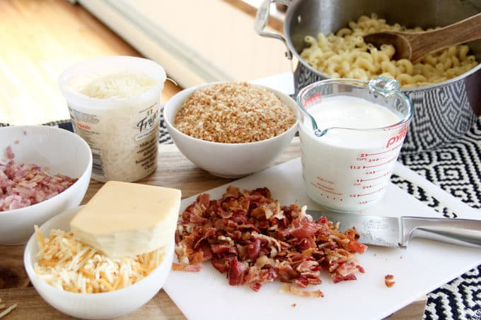 Gourmet Bacon Macaroni Recipe