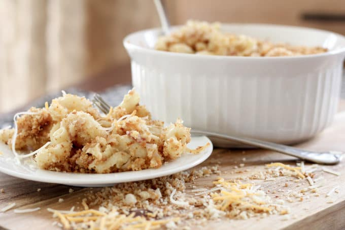 Gruyere and Parmesan Macaroni and Cheese