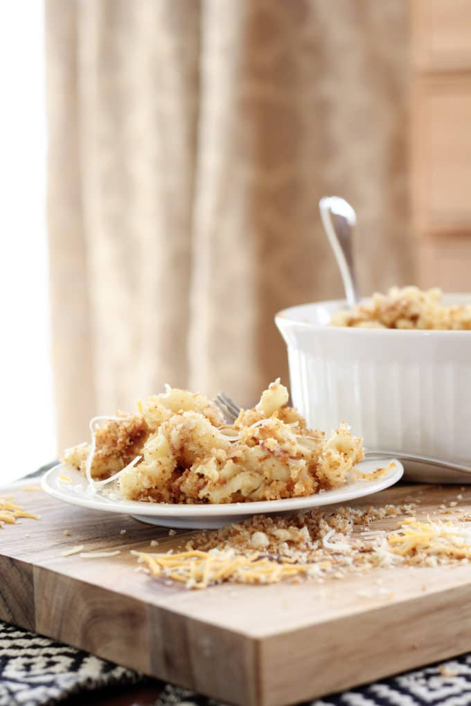 Gourmet Macaroni with Breadcrumbs