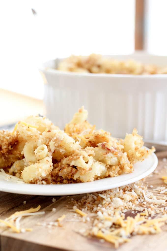 Gourmet Macaroni with Panko Crust