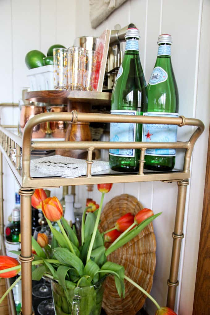 Bar Cart with Style