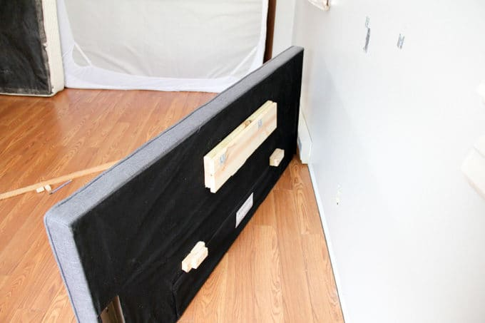 How to Wall Mount a Headboard-6